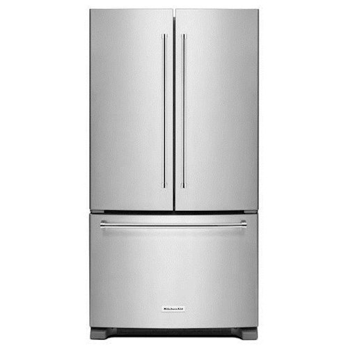KitchenAid KitchenAid French Door Refrigerators 20 cu. ft. 36-Inch Width Counter-Depth French Door Refrigerator with Interior Dispense