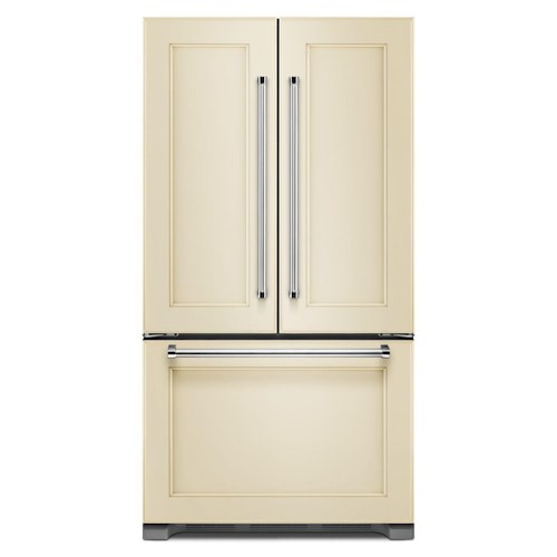 KitchenAid KitchenAid French Door Refrigerators 22 Cu. Ft. Counter Depth French Door Refrigerator with Internal Water Dispenser