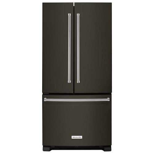 KitchenAid KitchenAid French Door Refrigerators 22 Cu. Ft. 33-Inch Width Standard Depth French Door Refrigerator with Interior Dispenser