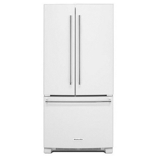 KitchenAid KitchenAid French Door Refrigerators 22 Cu. Ft. 33-Inch Width Standard Depth French Door Refrigerator with FreshChill™ Temperature-Controlled Full-Width Pantry