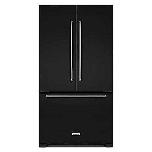 KitchenAid KitchenAid French Door Refrigerators Energy Star® 25 Cu. Ft. 36-Width Standard Depth French Door Refrigerator with Interior Dispenser
