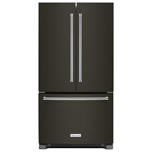 KitchenAid KitchenAid French Door Refrigerators 25 Cu. Ft. 36-Width Standard Depth French Door Refrigerator with Interior Dispenser