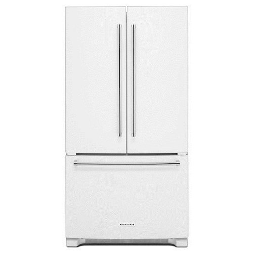 KitchenAid KitchenAid French Door Refrigerators Energy Star® 25 Cu. Ft. 36-Width Standard Depth French Door Refrigerator with Interior Dispenser