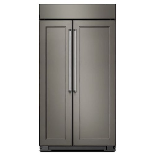 KitchenAid KitchenAid Side-by-Side Refrigerator 25.5 Cu. Ft 42-Inch Width Built-In Side by Side Refrigerator