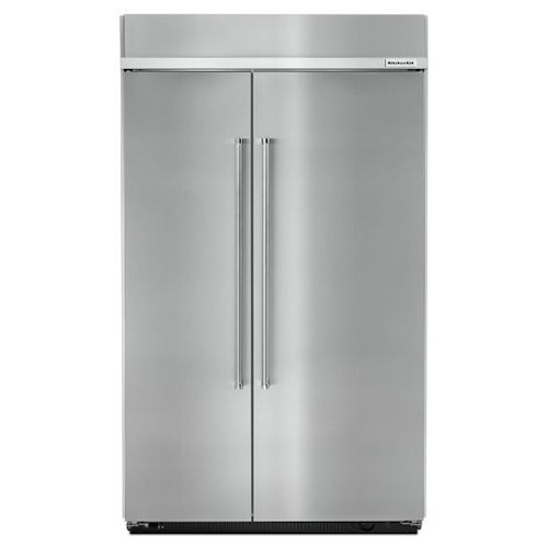 KitchenAid KitchenAid Side-by-Side Refrigerator 30.0 cu. ft 48-Inch Width Built-In Side by Side Refrigerator with Intuitive Controls