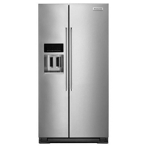 KitchenAid KitchenAid Side-by-Side Refrigerator 22.7 Cu. Ft. Counter Depth Side-by-Side Refrigerator with Exterior Ice and Water