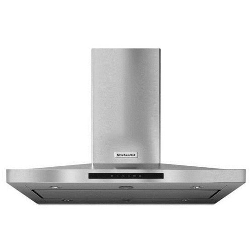 KitchenAid Vents and Hoods - 2014 42'' Island-Mount, 3-Speed Canopy Ventilation  Hood