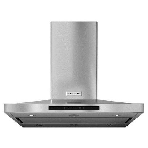 KitchenAid Vents and Hoods - 2014 36'' Island-Mount, 3-Speed Canopy Ventilation  Hood
