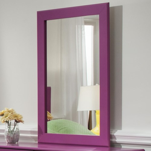 Kith Furniture 171 Raspberry Mirror with Frame
