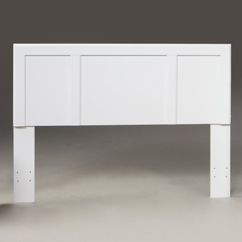 Kith Furniture 193 White Full/Queen Headboard