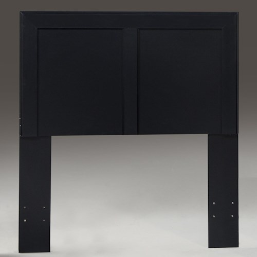Kith Furniture 195 Black Twin Headboard