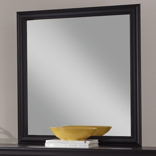 Kith Furniture Swag Mirror with Black Frame