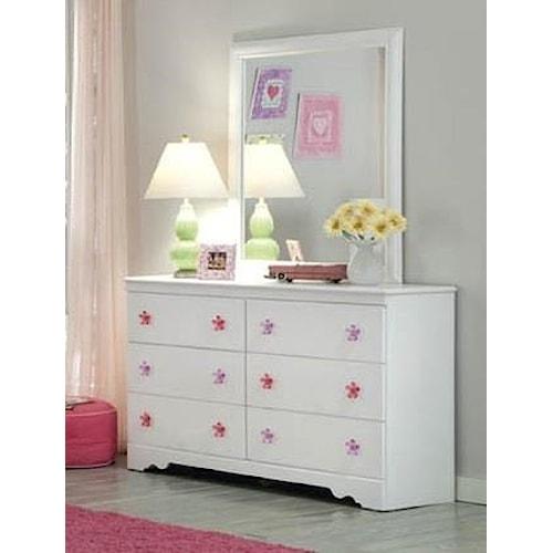 Kith Furniture Savannah Dresser & Mirror