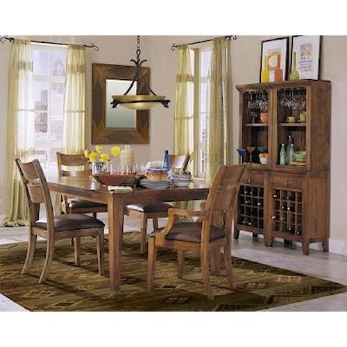 Morris Home Furnishings Tuscon 5pc Dining Room