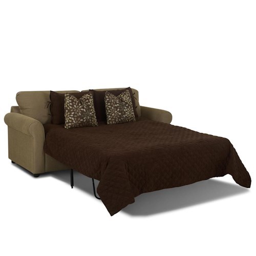Elliston Place Brighton Dreamquest Queen Sleeper Sofa with Rolled Arms