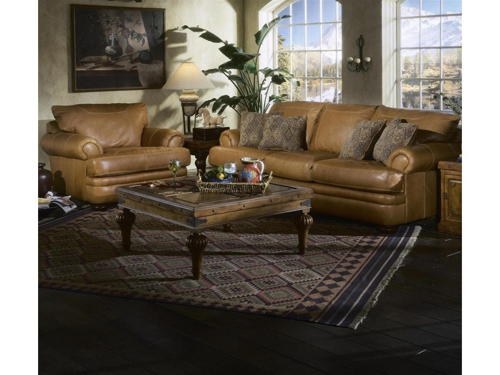 Sofa Shown with Chair.