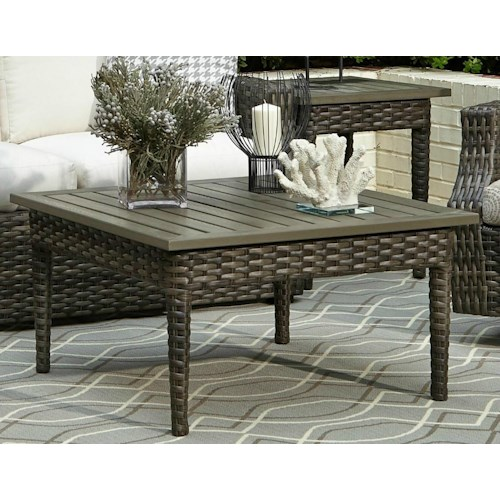 Elliston Place Tampa Outdoor Coffee Table