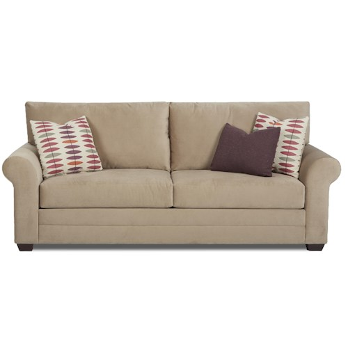 Elliston Place Annalee Casual Sleeper Sofa with Queen Innerspring Mattress