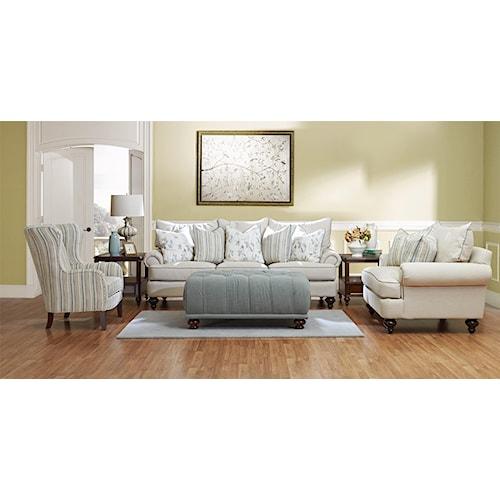 Elliston Place Ashworth D95200 Stationary Living Room Group