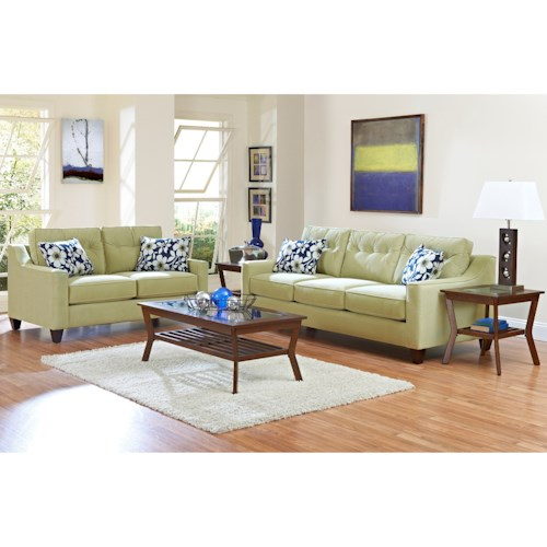 Klaussner Audrina Living Room Group