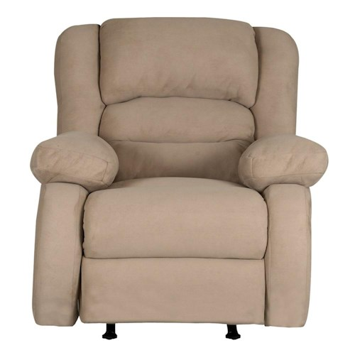 Elliston Place Austin Casual Upholstered Wall Recliner