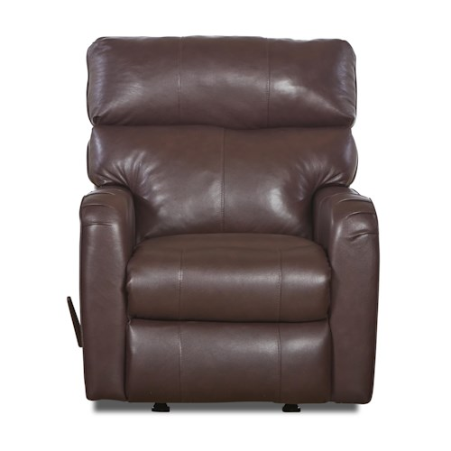 Klaussner Axis 25803 Transitional Swivel Rocking Reclining Chair