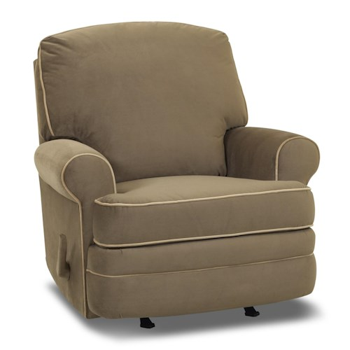Klaussner Belleview Rocking Reclining Chair