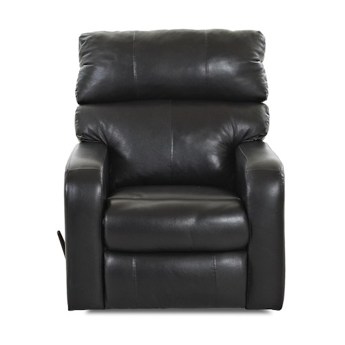 Klaussner Bradford Casual Swivel Gliding Reclining Chair