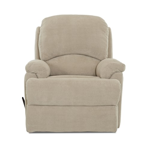 Elliston Place Bridgeport Casual Reclining Chair with Padded Chaise