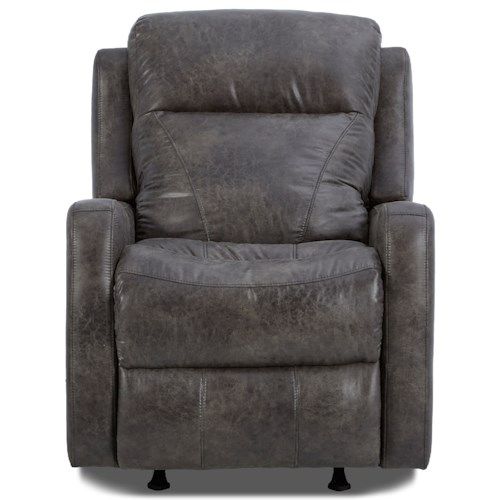 Klaussner Caprice Power Rocker Recliner with Power Headrest
