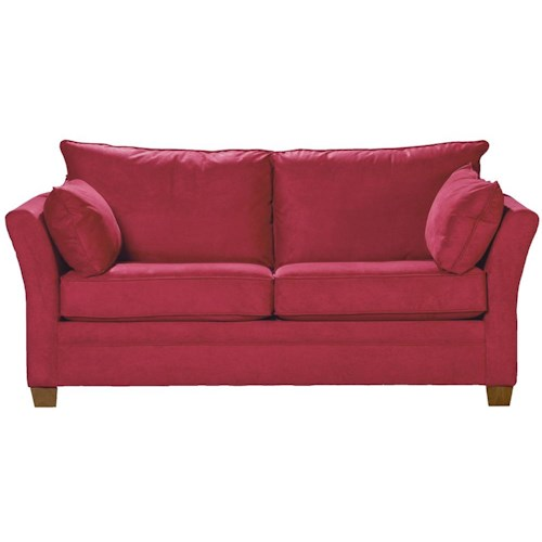 Klaussner Cassandra Contemporary Stationary Sofa