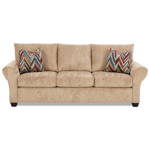 Elliston Place Cedar Creek Casual Air Coil Sleeper Sofa
