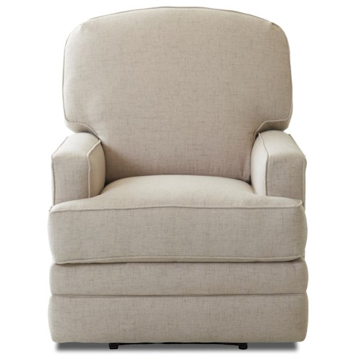 Klaussner Chapman Casual Reclining Rocking Chair