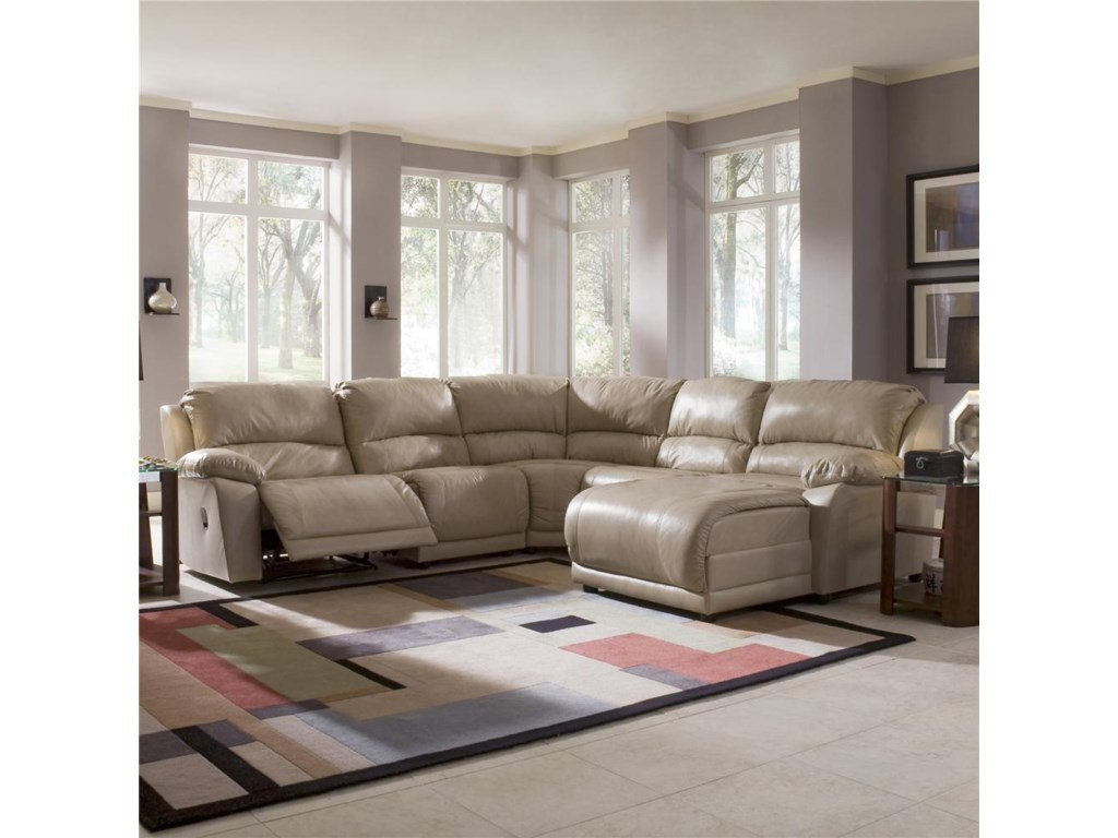 Shown in Room Setting with Recliner Open