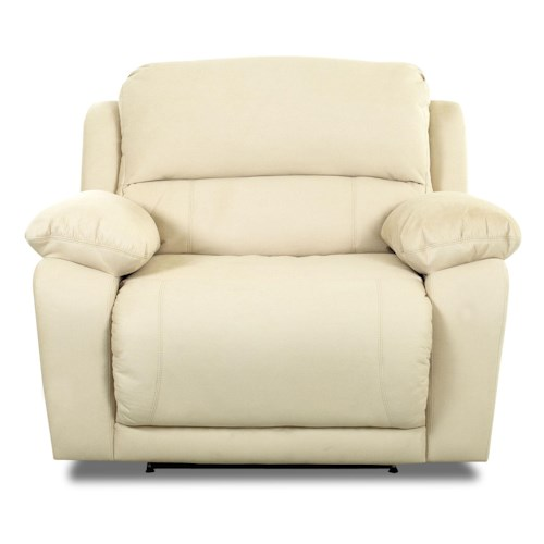 Klaussner Charmed Oversized Reclining Chair