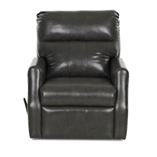 Elliston Place Chesapeake Contemporary Swivel Reclining Rocking Chair