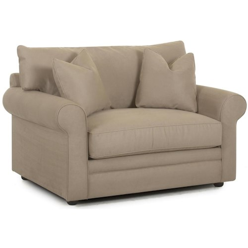 Klaussner Comfy Royale Oversized Chair Sleeper