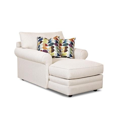 Elliston Place Comfy Casual Chaise Lounge