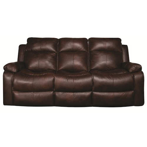 Elliston Place Darius Leather-Match* Power Reclining Sofa
