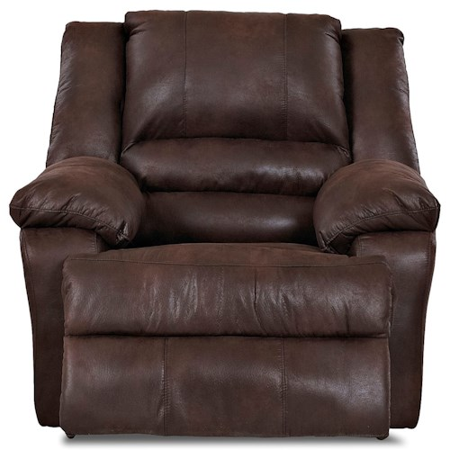 Klaussner Defender Casual Swivel Gliding Reclining Chair