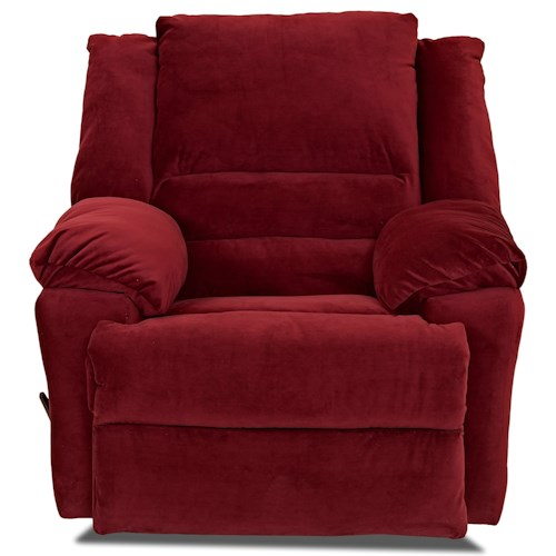 Elliston Place Defender Casual Swivel Rocking Reclining Chair
