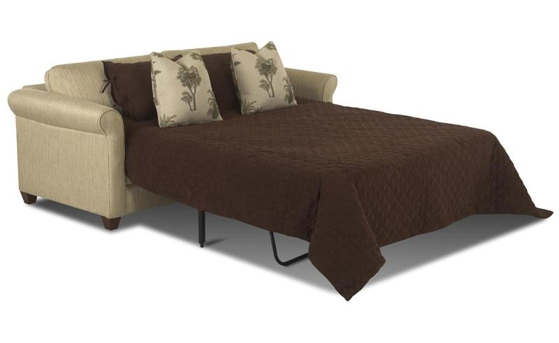 Shown with sleeper mattress extended