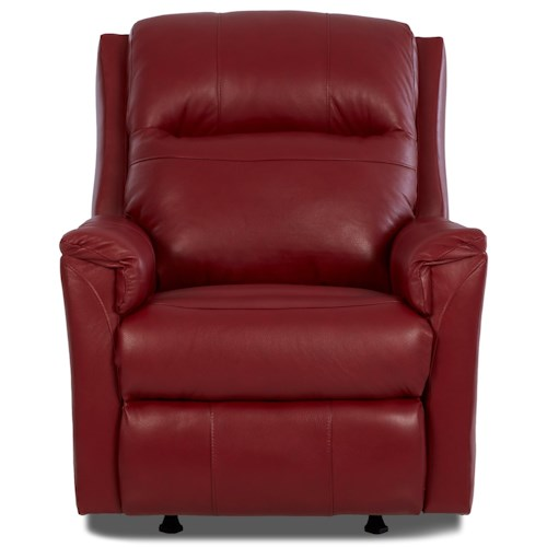 Klaussner Evans Power Recliner with Power Headrest