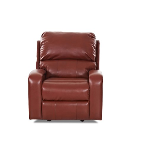 Klaussner Fairhope  Contemporary Reclining Rocking Chair
