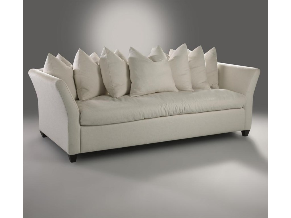 Sofa Shown with Pillows
