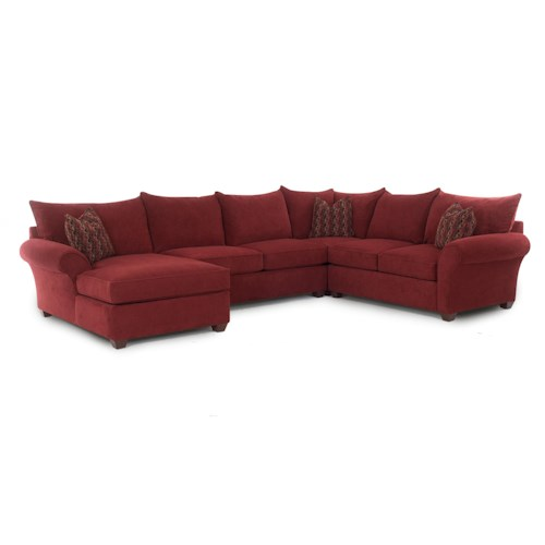 Elliston Place Fletcher Sectional Sofa with Chaise