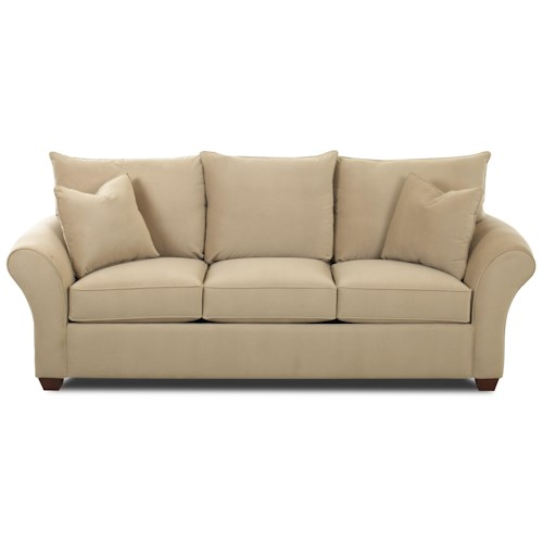 Elliston Place Fletcher Comfortable Stationary Couch