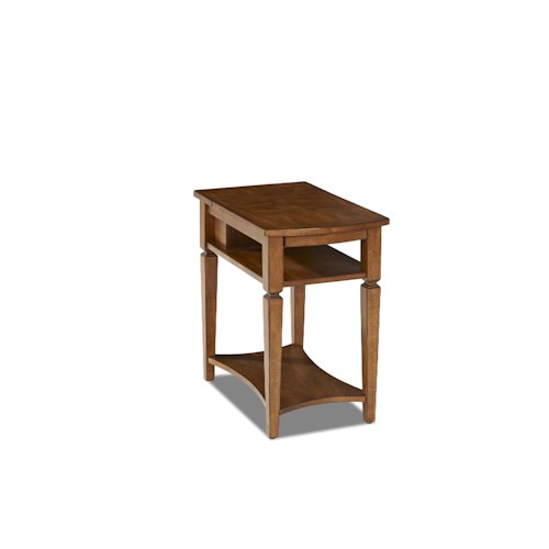 Elliston Place Glendale Chairside Table with Power