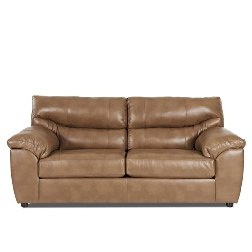 Elliston Place Griffin Casual Sofa with Pillow Arms