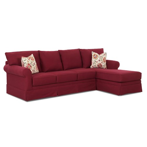 Elliston Place Grove Park Sofa with Chaise Lounge